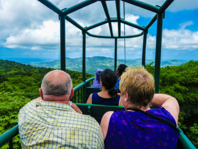 St Lucia Rain Forest Tram Ride