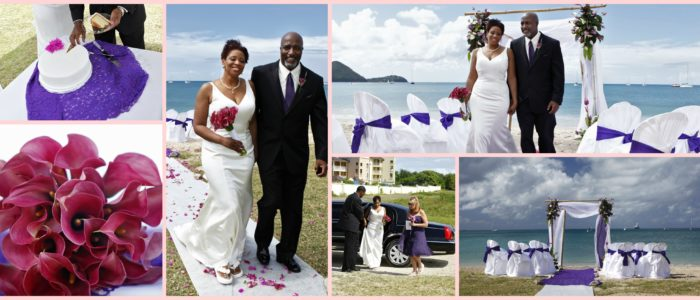 St Lucia Vow Renewal