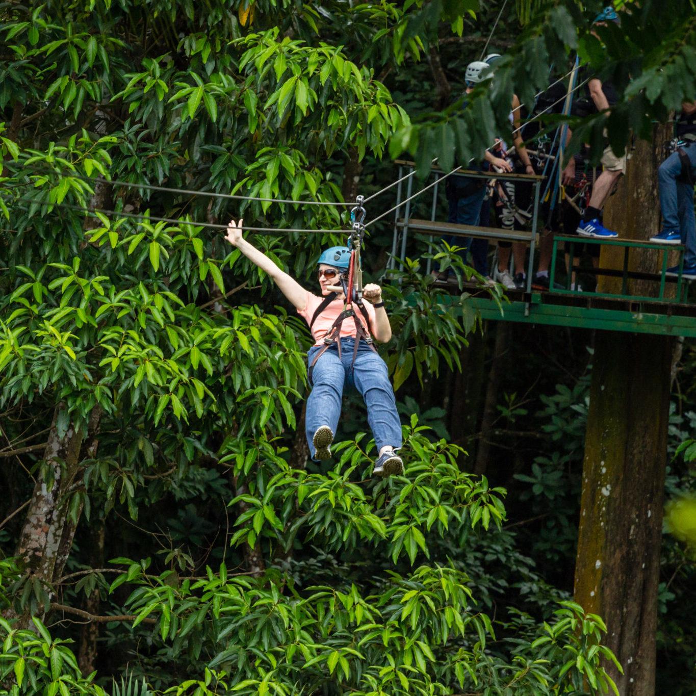 Zipline St.Lucia Caribbean