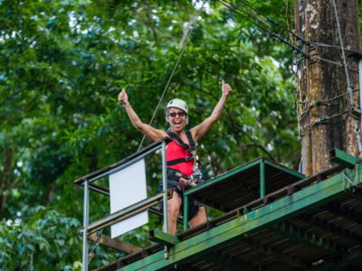 St Lucia Zip line Adventure