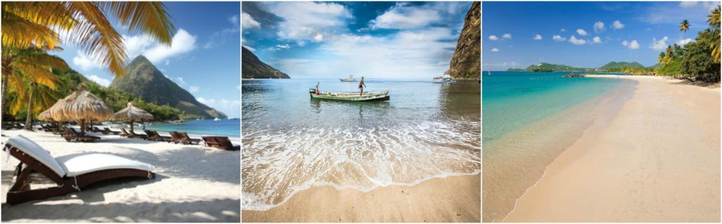 Top beaches in Saint Lucia